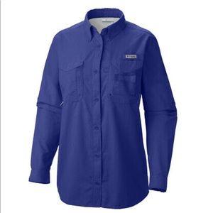 Columbia PFG women's fishing shirt